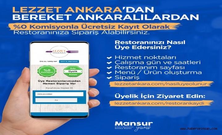 Ankaralı Esnafa Destek Olacak Sosyal Bir Proje: Lezzet Ankara