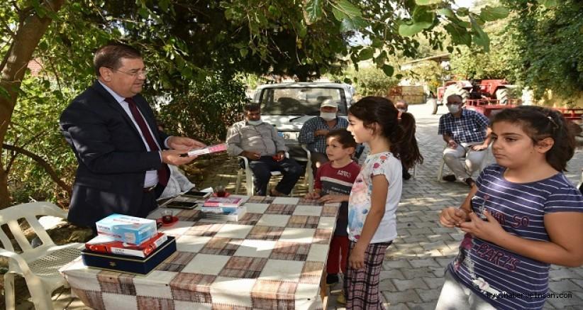 Başkan Tokat, Kırsal Mahalle Gezilerini Sürdürüyor. Eğridere, Ekindere, Etrenli, Köşk, Pinararası, Çiftlik ve Fesleğen mahalleleri ziyaret edildi