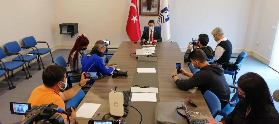 Bodrum Belediye Başkanı Aras, Bodrum'da Tam Kapanmayla İlgili Değerlendirmelerde Bulundu