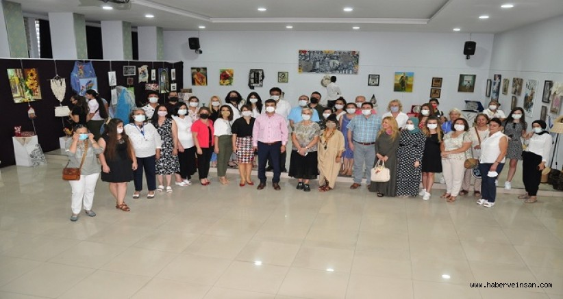 Halk Eğitim Merkezi Müdürlüğünün Kurslarında Üretilenler, Sergilendi