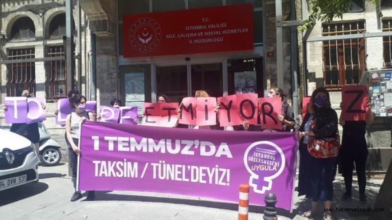İstanbul Sözleşmesi'nden vazgeçmiyoruz! 1 Temmuz'da sokaktayız; İtaat Etmiyoruz!