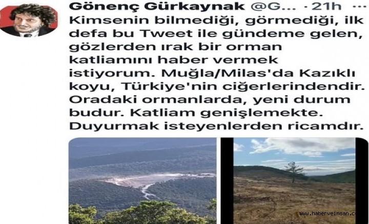 İYİ Parti Muğla Milletvekili Ergun'dan, Bafa-Ilbıra Dağı Soru Önergesi