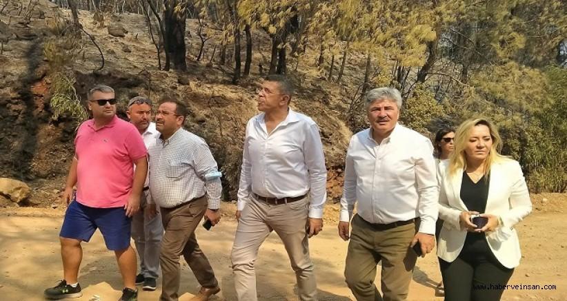 İYİ Parti Muğla Milletvekili Metin Ergun'un orman yangınlarıyla ilgili basına açıklaması yaptı