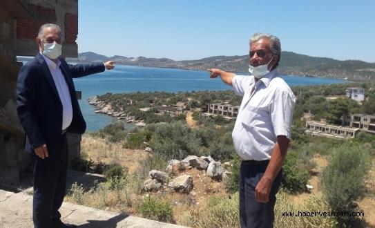 Kıyıkışlacık'ta İkinci Yükleme Limanının Yapımına, CHP Muğla Milletvekili Özcan Tepki Gösterdi