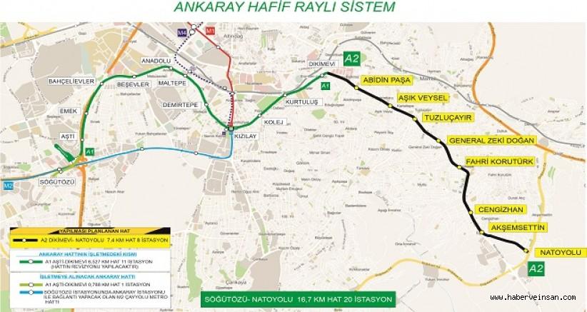 Mansur Yavaş Düğmeye Bastı: Dikimevi-Natoyolu Metro Hattı İçin İlk İmzalar Atıldı