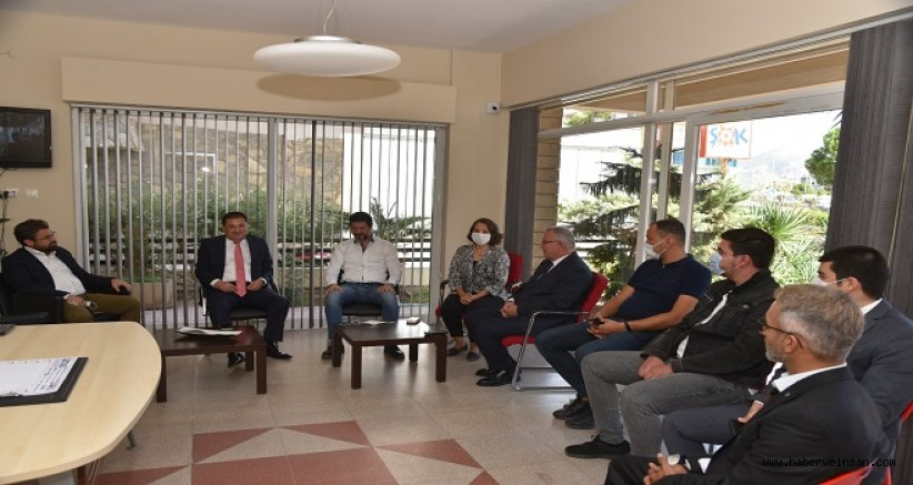Milas Belediye Başkanı Tokat'tan, Deva Partisi'ne Ziyaret