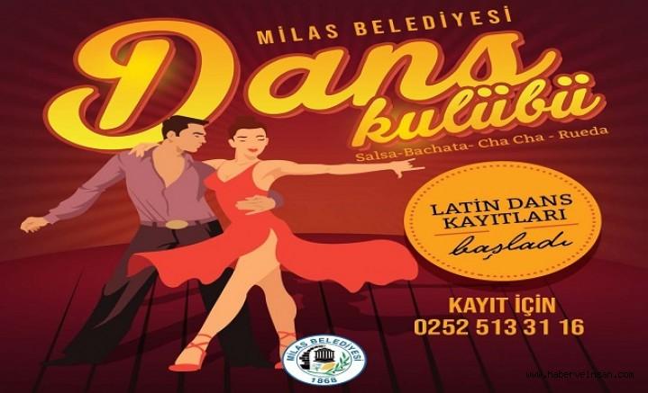 Milas Belediyesi Dans Kursları Başlıyor