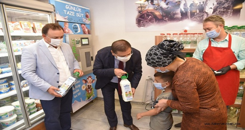 Milas Belediyesi ve Milas Süt Birliğinden Çocuklara, Haftada 2 Litre Süt Dağıtımı Yapılacak