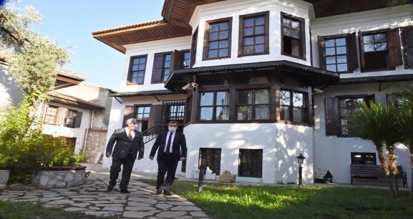 Muğla Valisi Tavlı, Kültür Varlıklarını Koruma Bölge Kurulu Müdürlüğünü Ziyaret Etti