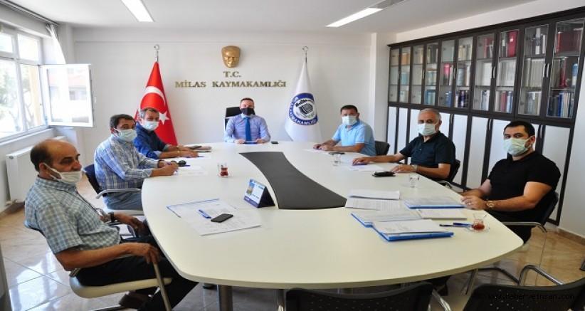 Organize Sanayi Bölgesi Yönetim Kurulu Toplantısı Yapıldı